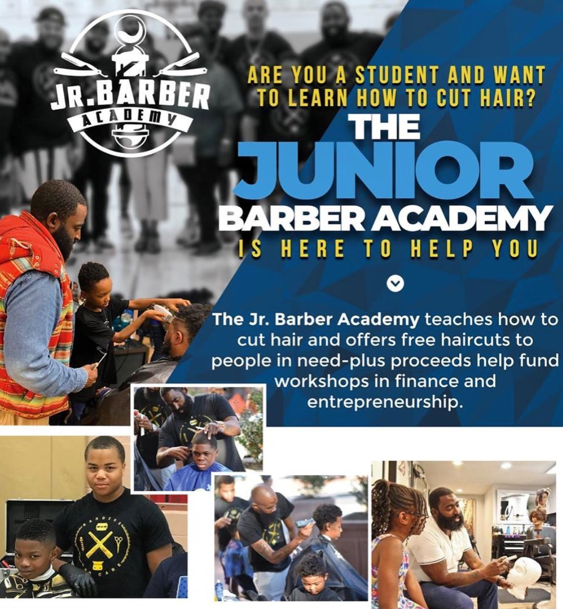 ALT TXT: Barber academy Philadelphia - Lansdowne - Barber Learning Course - Yeadon - Lansdowne - Darby - barber education - learn how to cut hair –